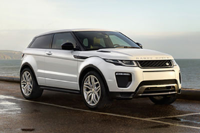 Evoque Coupe radio code