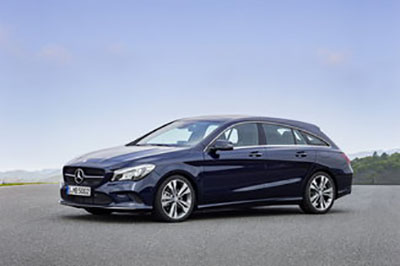 Cla Shooting Brake radio code