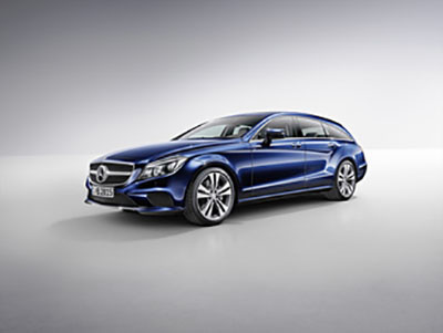 Cls Shooting Brake radio code
