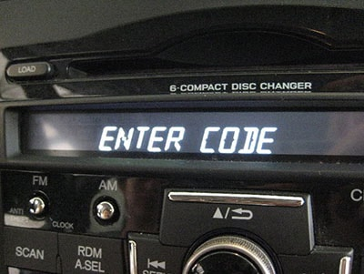 enter ford tourneo custom shuttle radio code