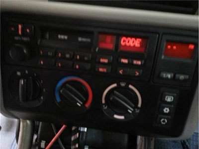 enter jaguar s-type radio code